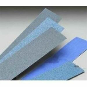Norton 23617 25 Pack Bluemag Body File Sanding Sheets Norgrip Vac 80 Grit New