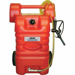 Roughneck Gas Caddy 15 gallon Poly