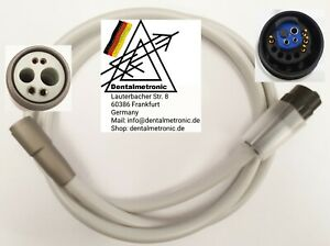 6pin 6 Holes Turbine Hose With Light For Sirona Units New Top Quality guarantee