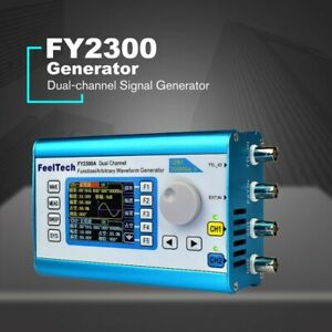 2 4 Feeltech Fy 2300 2ch Dds Arbitrary Waveform Function Signal Generator Meter