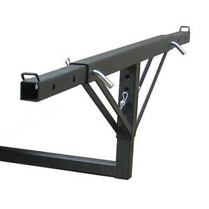 Tow Tuff Adjustable Steel Truck Bed Extender For Class Iii Class Iv Receivers