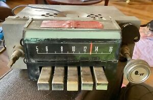 Vtg Ford Am Muscle Car Radio 7tps Philco Fomoco Antique 014016
