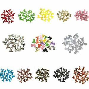 Round Metal Grip Clips Silver 1 25 Pack Of 20 Colorful Bulldog Stainless Steel