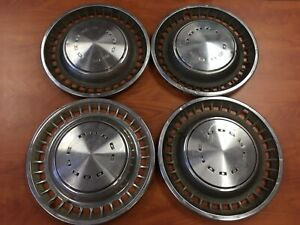 Set Of 4 1972 1976 Dodge Dart Challenger Charger 14 Hubcaps Wheel Covers