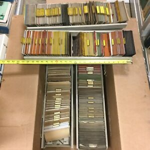 Huge Lot Cat Caterpillar Parts Service Manual On Microfiche over 100 Pounds