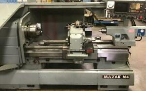 Mazak M4 Cnc Flat Bed Lathe Turning Center