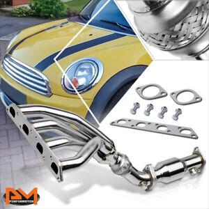 For 02 08 Mini Cooper R50 R52 R53 Stainless Steel Racing Exhaust Header Manifold