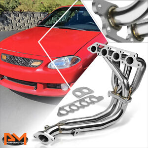 For 98 03 Ford Escort Zetec 2 0l L4 Stainless Steel 4 2 1 Racing Exhaust Header