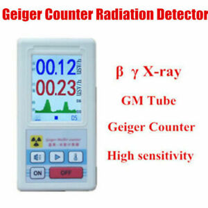 Radiation Detector Geiger Counter Beta Gamma X ray Nuclear Dosimeter Tester