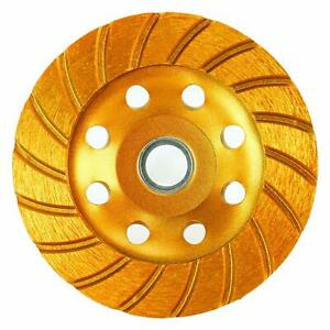 4 5 Super Turbo Diamond Cup Wheel Double Row Grinding Wheel For Angle Grinder