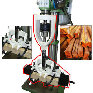 Woodworking Bench Drill Locator Tool Set For Mortising Chisels Tenoning Machine