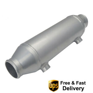 Universal 4 x10 Water To Air Intercooler Barrel Cooler For Supercharger Engine
