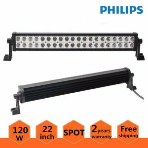 Philips 22inch Led Light Bar Offroad 120w Ford 4wd Suv Combo Driving Lamp 20 24