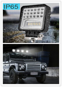 4x 48w Led Work Light Square Pods Spot Lights For Truck Off Road Tractor 12v 24v