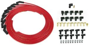 Taylor Spark Plug Wires Red Cut To Length 135 Boot Chevy Ford Dodge Amc Pontiac