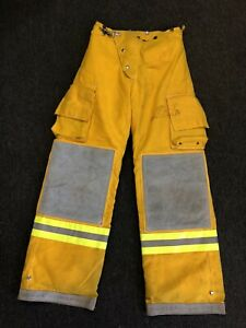 Cairnsturnout Gear Firefighter Fire Pants Nomex Quilted Costume Size 32 W X 33