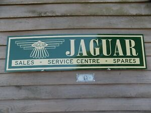 1950 S 60 S Style Jaguar Xk S Xke Series Service Centre Sign Ad W Winged Logo