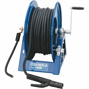 Coxreels Hand crank Welding Cable Reel 300ft Cap 2 ga Cable 1125wcl 6 c