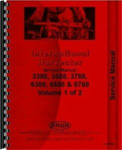 Ih International 3388 3588 3788 6388 6588 6788 Tractor Service Repair Manual