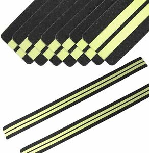 Anti Slip Non Skid High Traction Safety Tape Grip Adhesive 15pack Pre cut Strips