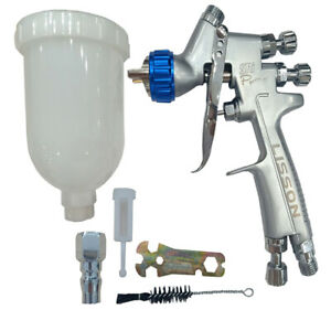 Mini Hvlp Spray Gun 1 2mm Gravity Feed Primer Paint Pro Repair Kit With Cup