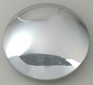 U S Wheel Center Cap Steel Chrome Snap In Smoothy Style Baby Moon Design Each