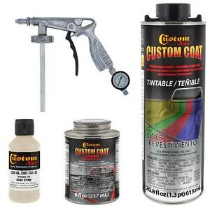 33510 Sandstone T81 Urethane Spray On Truck Bed Liner 1 Quart Kit W Spray Gun