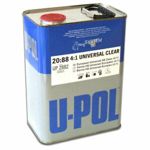 New U pol Overall Clear Urethane Clearcoat auto Paint Upo 2882