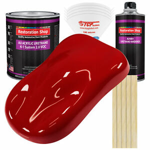 Restoration Shop Victory Red Acrylic Urethane Gallon Kit Auto Paint