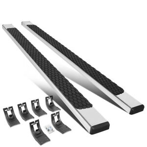 2pcs 5 Ss Stainless Step Bar Running Boards For 2009 2020 Dodge Ram Crew Cab