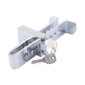 Universal Brake Pedal Lock Car Stainless Steel Clutchs Lock Security Anti Theft