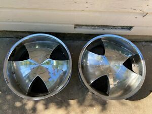 Set Of 4 Rims 22in Used 6 X 5 5inch Bolts