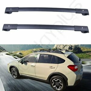 Aluminum Cross Bars Roof Rack Cargo For 14 19 Subaru Forester Crosstrek Impreza