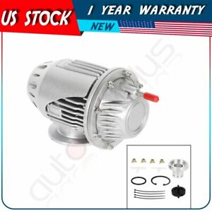 Universal Hks Ssqv4 Bov Super Sequential Iv Turbo Blow Off Valve Oem4 new Silver