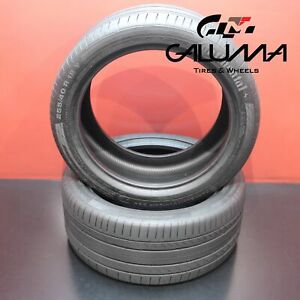 2 Tire Continental Contisportcontact Runflat 255 40r18 255 40 18 2554018 53717