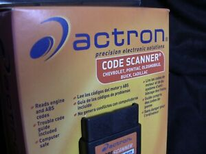 Actron Cp 9001 Car Code Scanner Gm