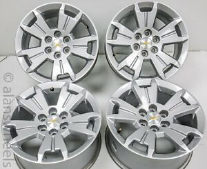 Chevy Colorado Gmc Canyon 17 Painted Factory Oem Wheels Rims 15 18 5672 1397b