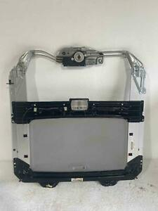 2007 Honda Civic Coupe Si Sun Roof Assembly W Motor Tracks Glass Drain System