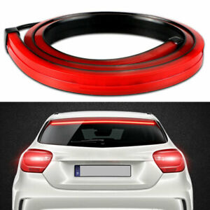 Led Car High Mount Third Brake Stop Rear Strip Lamp Tail Light Bar Windshield L0