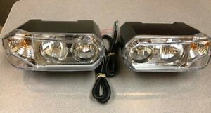 Halogen Snowplow Headlamp Kit 1 Pair New In Box Hamsar Snow Plow Light