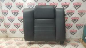 2007 2009 Mustang Shelby Gt500 Coupe Lh Left Rear Back Seat Upper Black Leather
