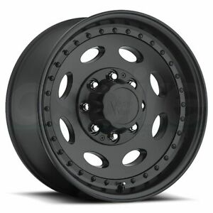Vision Hd 81 Hauler Single 19 5x7 5 8x180 25 Matte Black Wheels 4 19 Inch Rims