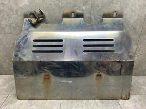 03 09 Hummer H2 Chrome Aftermarket Skid Plate Cover With Brackets Oem