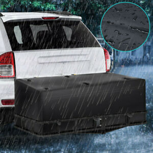 59 Large Cargo Carrier Bag Rv Truck Hitch roof Top Rack Luggage Water resistant