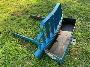Ford Tractor Bumber With Tool Tray