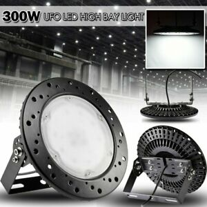 33000lm Ufo Led High Bay Light 300w High Bay Warehouse Industrial Lights New