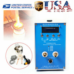 Updated Digital 110 220v High frequency Zvs Induction Heater Heating Machine Usa