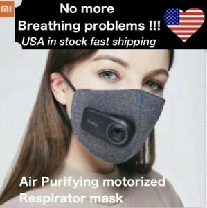Xiaomi Purely Air Purifying Electric Respirator Face Mask Washable Reusable