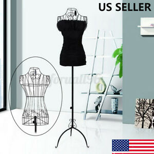 67 Vintage Wire Dress Form Mannequin Boutique Holder Store Display Stand