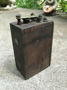 Antique Ford Model T Wooden Buzz Box Ignition Coil Ford Logo On Box Parts Lot A